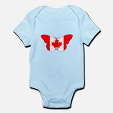 """Butterfly """"Canada"""" Body Suit"""