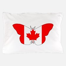 """Butterfly """"Canada"""" Pillow Case"""