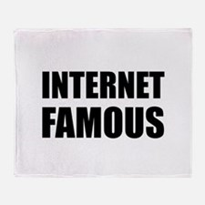Internet Famous Throw Blanket
