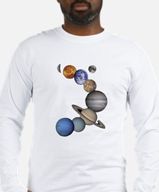 Planet Swir Long Sleeve T-Shirt
