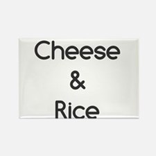 Cheese and Rice Magnets