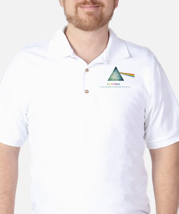 spectrum_prism1in150a Golf Shirt