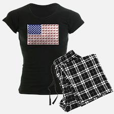 Patriotic Dachshund/USA Pajamas