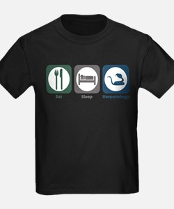 Eat Sleep Herpetology T-Shirt