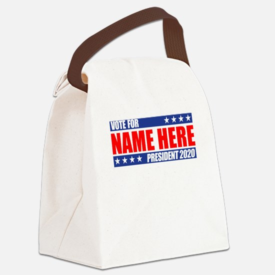 Vote For 2020 Customizable Canvas Lunch Bag