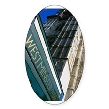 Westminster Abbey Oval Decal
