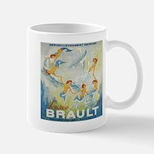 Mermaids, Champagne Vintage Poster Mugs