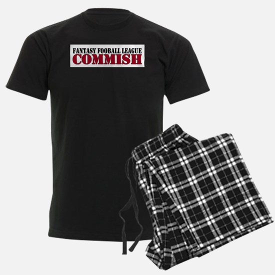 Fantasy Football Commish Pajamas