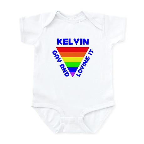 Kelvin Gay Pride (#005) Infant Bodysuit