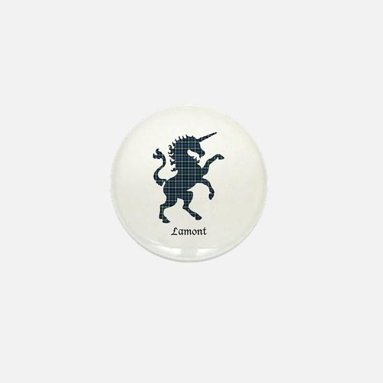Unicorn - Lamont Mini Button