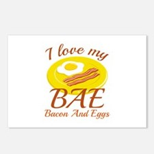 BAE Bacon And Eggs Postcards (Package of 8)