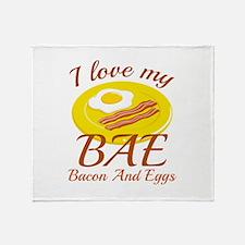 BAE Bacon And Eggs Stadium Blanket