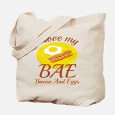BAE Bacon And Eggs Tote Bag