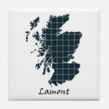 Map - Lamont Tile Coaster