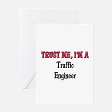 Trust Me I'm a Traffic Engineer Greeting Cards (Pk
