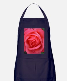 Pink Rose Apron (dark)
