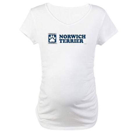 NORWICH TERRIER Maternity T-Shirt