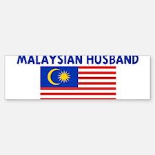 MALAYSIAN HUSBAND Bumper Bumper Bumper Sticker