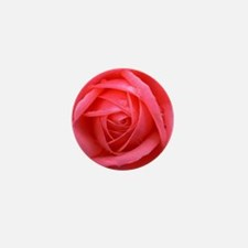 Pink Rose Mini Button (10 pack)