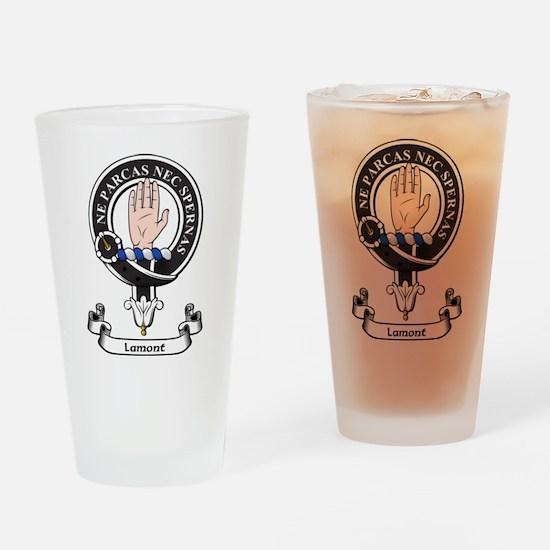 Badge - Lamont Drinking Glass