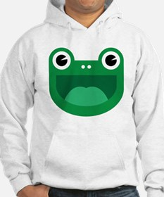 Happy Frog Logo by Don Sweatshirt
