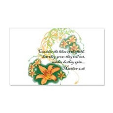 Lilies of the Field Wall Decal
