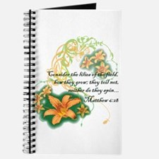 Lilies of the Field Journal