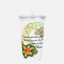 Lilies of the Field Acrylic Double-wall Tumbler