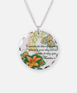 Lilies of the Field Necklace