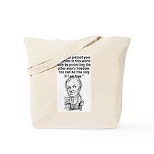 Cute Health care Tote Bag