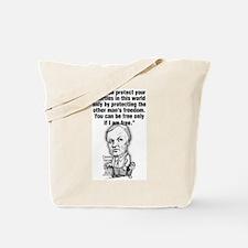 Cute Clarence Tote Bag
