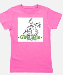 Girls Rein with style - stars T-Shirt