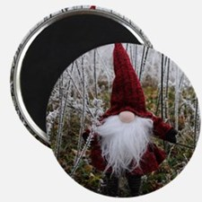 RED HATTED GNOME Magnets