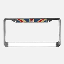 Keep Calm And Carry On License Plate Frame