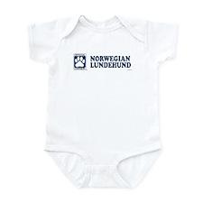 NORWEGIAN LUNDEHUND Infant Bodysuit