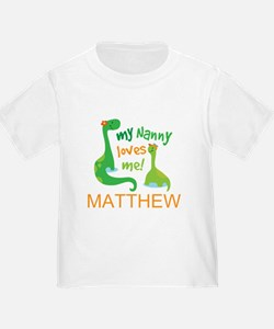 My Nanny Loves Me Personalized T-Shirt