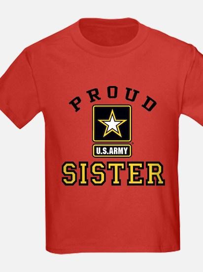 Proud U.S. Army Sister T-Shirt