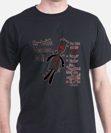 Ex-Wife Voodoo Doll T-Shirt