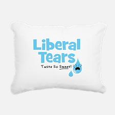 Liberal Tears Rectangular Canvas Pillow