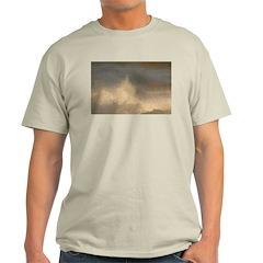 p0407. splash..? Ash Grey T-Shirt