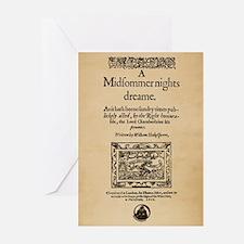 Midsummer Nights Dream Greeting Cards (Pk of 10)
