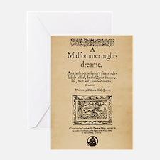 Midsummer Nights Dream Greeting Card
