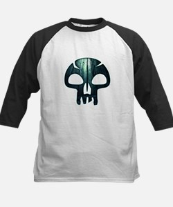 Magic the Gathering Swamp Skull Baseball Jersey