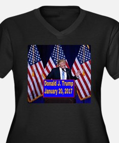 Trump Inauguration Plus Size T-Shirt