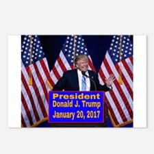 President Trump Inaugurat Postcards (Package of 8)