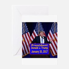 President Trump Inauguration Greeting Cards