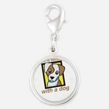 life is better with a dog Charms