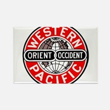 Western Pacific Railroad logo Magnets