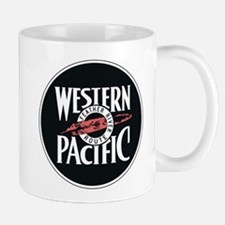 Western Pacific Railroad Feather Route 2 Mugs