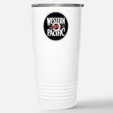 Western Pacific Railroa Stainless Steel Travel Mug